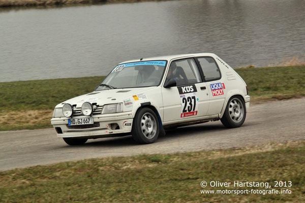 # 237 - Stephan Elfner (Hilsenhaim) / Peugeot 205 GTI