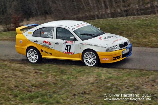 # 47 - H14 - Matthias Köhler (Bolheim) & Elges Ralf (Bielefeld) / Skoda Octavia