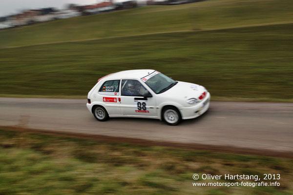 # 98 - 9 - Hans-Jörg Erhard (Aalen) / Citroen Saxo 16V vom MSC Calw
