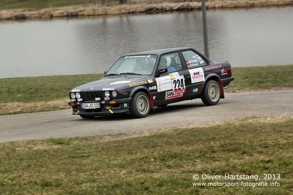 # 224 - Martin Frank (Großfischlingen) & Daniel Frank (Dudenhofen) / BMW Alpina C1