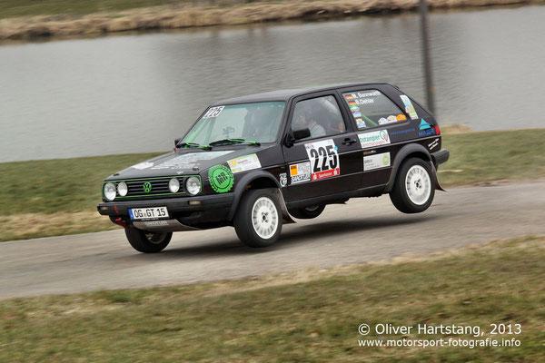# 225 - Manfred Bannwarth (Willstätt) & Bernd Oehler (Willstätt) / VW Golf II GTI 16V