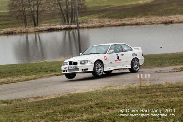 # 5 - H15 - Jürgen Geist (Wohlmuthausen) & Sebastian Glatzel (Affalterbach) / BMW M3 E36
