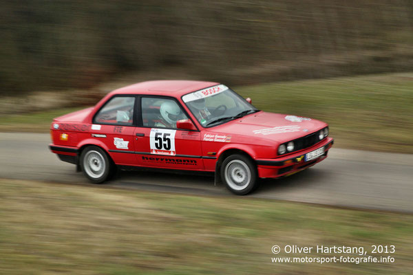 # 55 - 8 - Florian Gwosdz (Tamm) & Fabian Gwosdz (Schorndorf) / BMW E30 3 18is vom RTC Fellbach