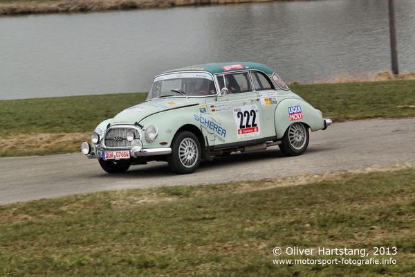 # 222 - Michael Gross (Lindenberg) & Marcus Steuer (Idar-Oberstein) / Auto Union 1000 S vom AVG-Scherer
