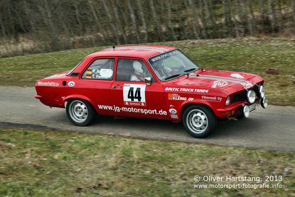 # 44 - H14 - Peter Renner (Orsingen) & Theresa Renner / Opel Ascona A vom MSC Steißlingen Black-Forest