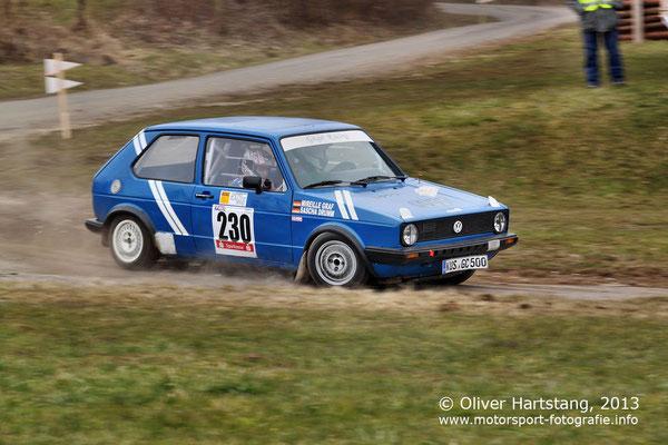 # 230 - Sascha Drumm (Altenglan) & Mireille Graf (Thallichtenberg) / VW Golf GTI
