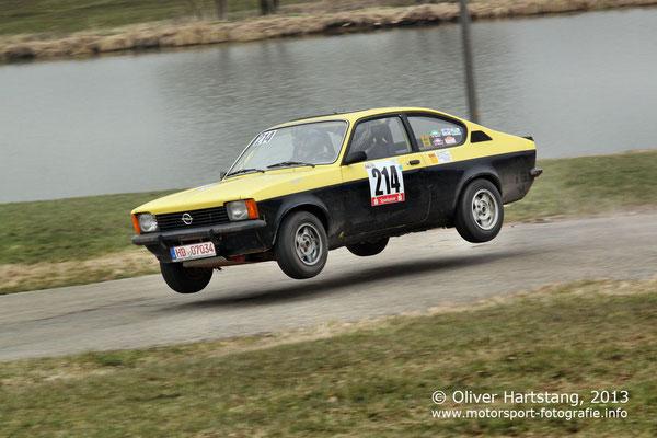 # 214 - Bernd Kohl (Heiligkreuzsteinach) & Roland Oster (Heiligkreuzsteinach) / Opel Kadett C Coupé