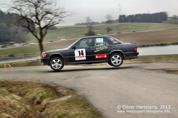 # 14 - H15 - Heiko Grau (Eschach) & Melissa Schuster (Eschach) / Mercedes Benz 190