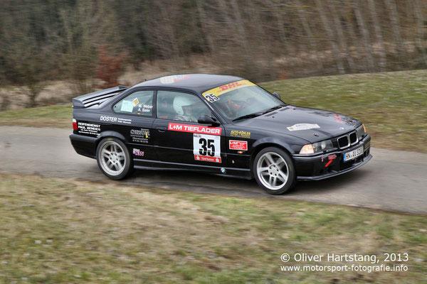 # 35 - 3B - Andreas Baier (Obersulm) & Matthias Weber (Grafenau) / BMW E3 6 M3 vom MC Heilbronn