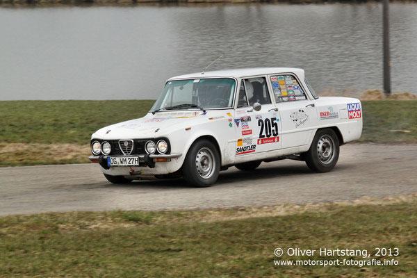 # 205 - Wolfgang Michalsky (Schutterwald) & Timo Michalsky (Schutterwald) / Alfa Romeo Rallye Giulia vom ADAC Südbaden e.V.