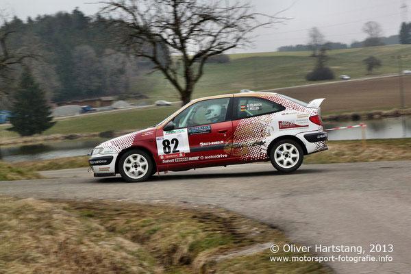 # 82 - G20 - Daniel Földesch (Oberhausen) & Jürgen Müller (Pfaffenhofen) / Citroen Xsara vom Rallye-World Team