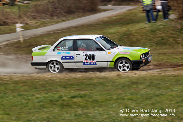 # 240 - Jürgen Keller (Ottweiler) & Steffen Keller (Ottweiler) / BMW 320i