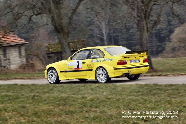 # 3 - H15 - Fritz Köhler (Öhringen) & Petra Hägele (Öhringen) / BMW M3 vom HMC Öhrigen
