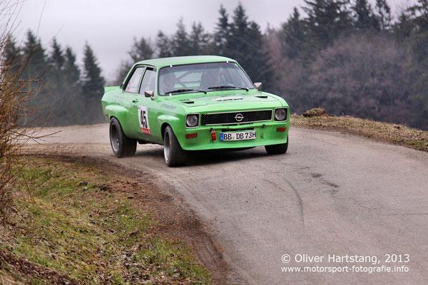 # 45 - H14 - Dietmar Bubeck (Asperg) & Dieter Bollinger (Leutenbach) / Opel Ascona A vom MSC Winnenden