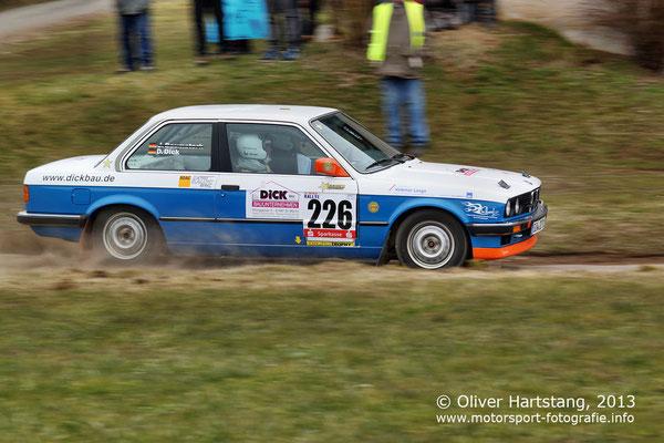 # 226 - Dominik Dick (St. Martin) & Sven Eichhorn (Kirrweiler) / BMW 320i E30