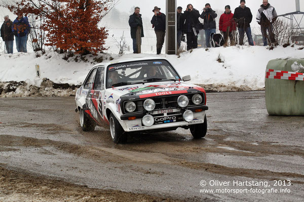 # 3 - Thierry Neuville (BE) & Nicolas Gilsoul (BE) / Ford Escort 2000 RS Mk II, 1976