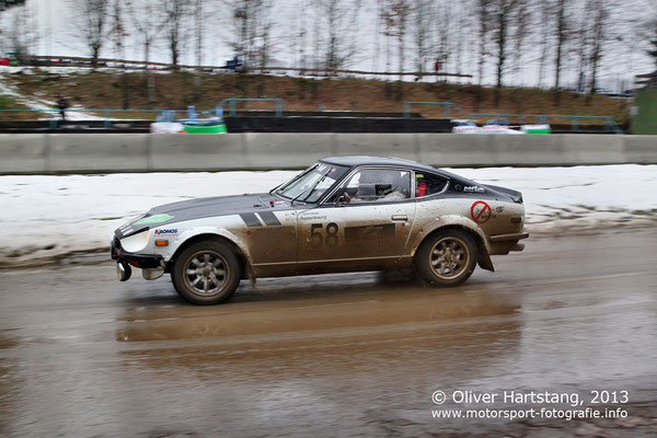 # 58 - Pascal Goosse (BE) & Eddy Roderbourg (BE) / Datsun 240Z, 1970