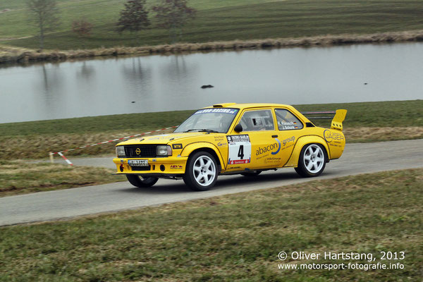 # 4 - H15 - Michael Rausch (Schlitz) & Jenny Schonk (Wadrill) / Opel Ascona B vom AC Schlitz