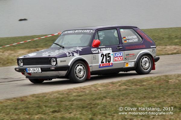 # 215 - Daniel Gärtner (Heppenheim) & Yvonne Gärtner (Heppenheim) / VW Golf GTI