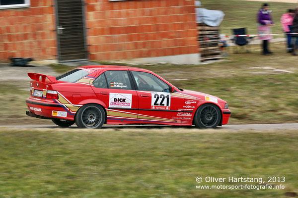 # 221 - Udo Wagner (Edenkoben) & Sebastian Kurz (Lug) / BMW E3 6 325i vom ADAC Pfalz