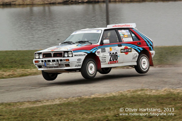 # 206 - Jürgen Jochum (Leudersdorf) & Rene Borsch (Gerolstein) / Lancia Delta HF integrale