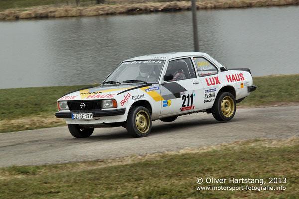 # 211 - Markus Semmler (Laubach) & Harald Aßmus (Nidda) / Opel Ascona B