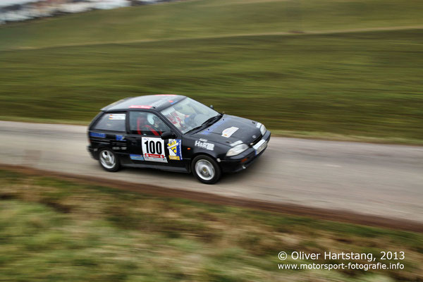# 100 - 10 - Ronald Blaha (Dettenhausen) & Friedrich Schwab (Ostelsheim) / Suzuki Swift GTI vom RRWC Lausitz