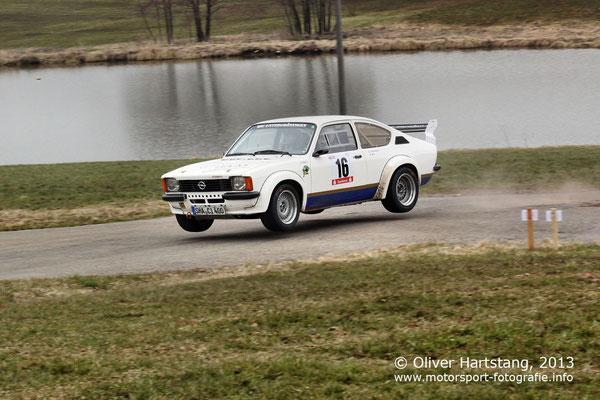 # 16 - H15 - Klaus Otterbach (Obersontheim) & Roland Mai (Rosenberg) / Opel Kadett C GTE vom MSC Untergröningen