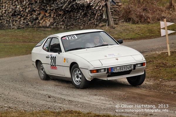 # 220 - Bernhard Sorm (Reutlingen) & Sergej Trai (Reutlingen) / Porsche 924