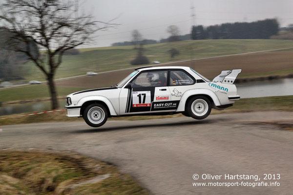 # 17 - H15 - Steffen Schönfelder (Neuhengstett) & Marco Schönfelder (Neuhengstett) / Opel Ascona B EVO 3 vom MSC Calw