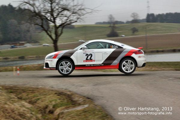 # 22 - G21 - Bernd Fruck (Schwäbisch Gmünd) & Diana Luther (Leinzell) / Audi TT RS vom Racing Team Mögglingen