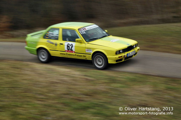 # 62 - 8 - Patrick Brenner (Waldstetten) & Christoph Niewöhner (Waldstetten) / BMW E30 MSC vom Frickenhofer Höhe