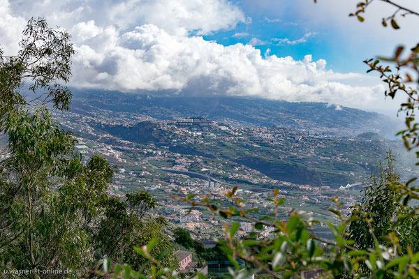 Blickrichtung Funchal, Madeira