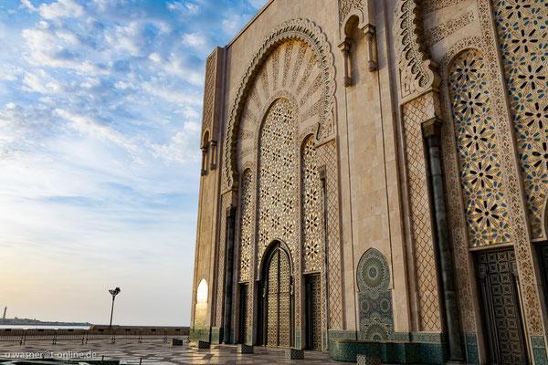 Casablanca, die Hassan-II.-Moschee