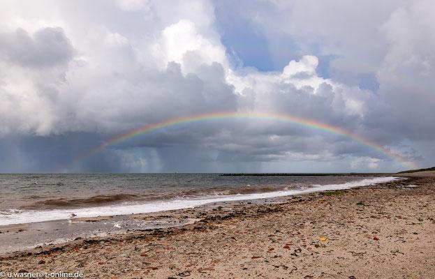 Helgoland Regenbogen 12.09.2017