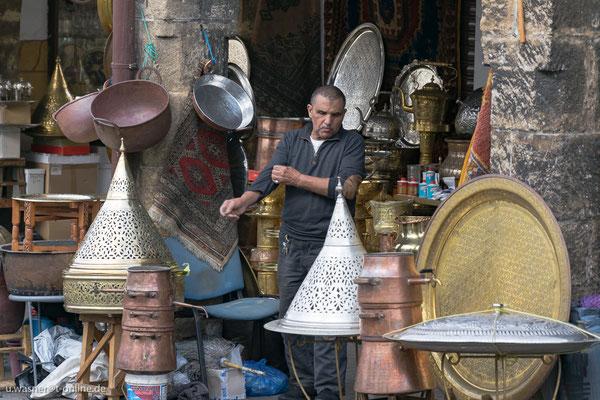 Casablanca, Händler in der Nähe vom Souk
