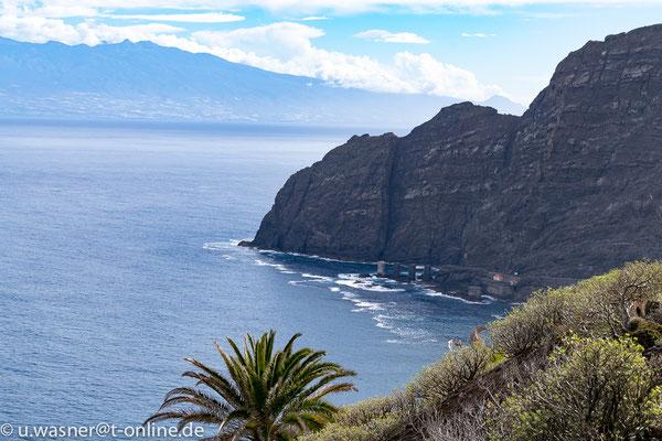 Bucht La Gomera, im Hintergrund Teneriffa
