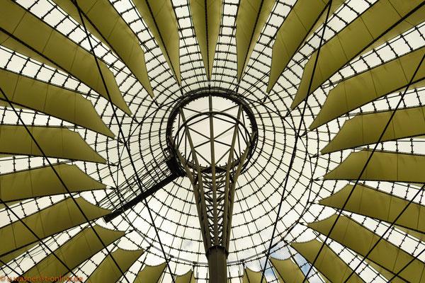 Potsdamer Platz Dachkonstruktion
