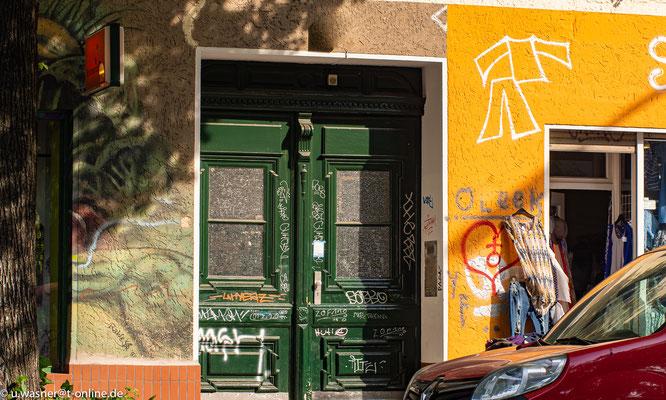 Alt-Berliner Eingang zum Hinterhof