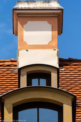 Dacherker im Barockviertel Dresden