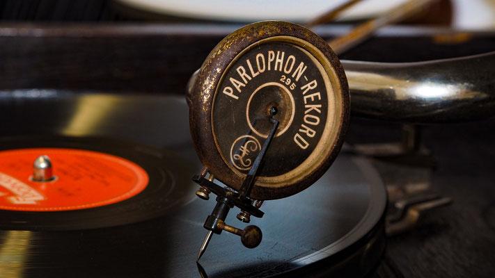 altes Grammophon