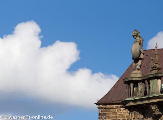 Über den Wolken in Bremen