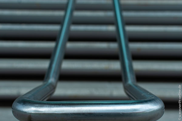Treppengeländer am Bürohaus Potsdamer Platz
