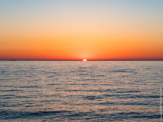 Sonnenuntergang Ostsee 26.05.2017