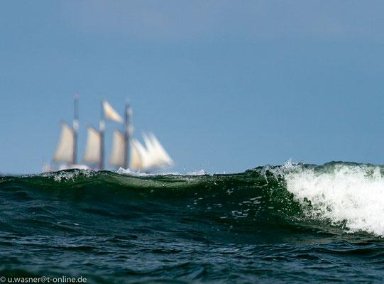 """""""Geisterschiff"""" auf der Ostsee"""