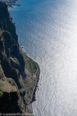 Steilküste bei Cabo Girao, Madeira