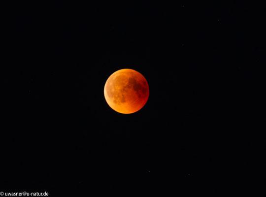 Mondfinsternis um 23:11 Uhr in Neerstedt