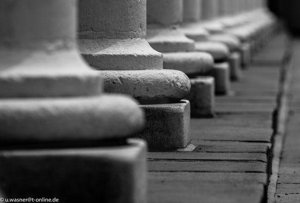Säulen im Dresdner Stallhof