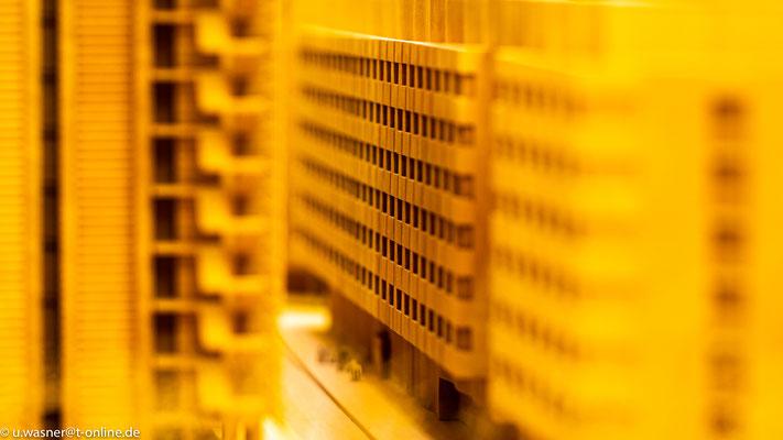 Model vom Center Potsdamer Platz