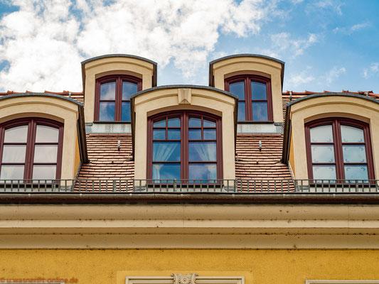 Dachgauben im Barockviertel Dresden